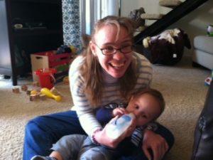 caden and Aunt Ra